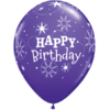 """11"""" Birthday Violet & Lilac Latex x 25 product link"""