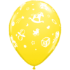 "11"" Pastel Assorted Baby Nursery Latex Balloo product link"