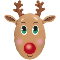 "36"" Big Red Nose Reindeer"