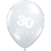 30th Birthday Latex Balloons overview