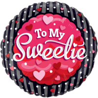 "18"" To My Sweetie Balloon"