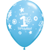 "11"" Happy 1st Birthday Boy Blue Latex x 25 product link"