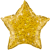 "20"" Gold Holographic Star Balloon product link"