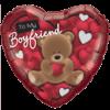 """18"""" To My Boyfriend Balloon overview"""
