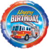 """18"""" Bday Fire Truck Foil Balloon product link"""