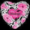 Wonderful Mum Floral Damask product link