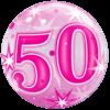 50 Pink Starburst Sparkle product link