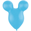 "50 x 15"" Pale Blue Mousehead Latex Balloons product link"