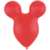 """50 x 15"""" Red Mouse Shape Latex overview"""