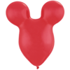 """50 x 15"""" Ruby Red Mousehead Latex Balloons product link"""