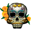 "38"" Day of the Dead Skull product link"