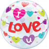 I Love U Banners Hearts product link