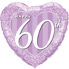 Happy 60th Damask Heart product link