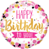 Happy Birthday To You Pink & Gold product link