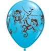 "11"" Mischievous Monkeys Wrap Latex x 25 product link"