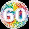 60 Rainbow Confetti product link