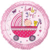 """18"""" Rachel Ellen - Baby Girl Stoller Foil Bal product link"""