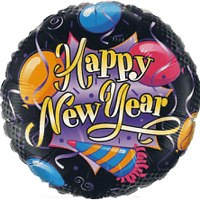 "18"" Happy New Year Balloon"