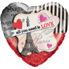 """18"""" All You Need Is Love Balloon overview"""