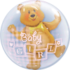New Baby & Baby Shower Bubble Balloons overview
