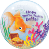 Get Well Soon Bubble Balloons overview