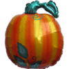 "26"" Bg Halloween Pumpkin Balloon overview"
