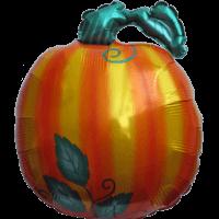 "26"" Bg Halloween Pumpkin Balloon"