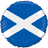 "18"" Scottish Flag Balloon overview"