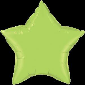 "20"" Lime Green foil Star Balloon"