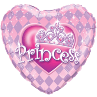 "18"" Princess Pink Theme Balloon"