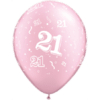 "11"" 21-A-Round Pearl Pink Latex balloons x 25 product link"