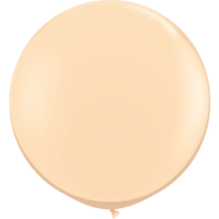 3' Fashion Blush Latex Balloon x 2