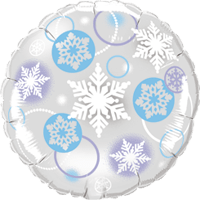 "18"" Snowflake Deco Balloon"