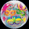"""22"""" Masquerade Bubble Balloon product link"""