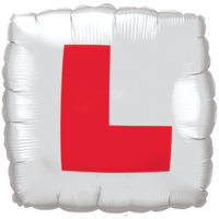 "18"" Learner Plates Balloon"