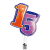 Big 15th Birthday Numbers product link