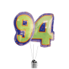 Big 94th Birthday Numbers product link