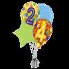 24th Balloon Birthday  product link