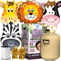 Animal Giant Foil Balloon Party Pack