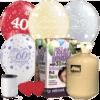 Anniversary Latex Balloon Pack