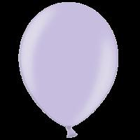 "12"" Custom Printed Metallic Lavender Latex Balloons"
