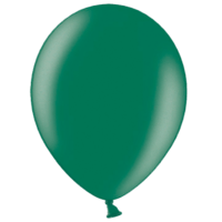 "12"" Custom Printed Metallic Oxford Green Latex Balloons"