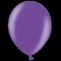 "12"" Custom Printed Metallic Purple Latex Balloons"