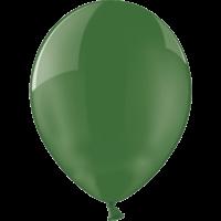 "12"" Custom Printed Crystal Green Latex Balloons"