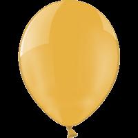 "12"" Custom Printed Crystal Orange Latex Balloons"