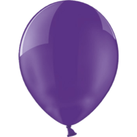 "12"" Custom Printed Crystal Quartz Purple Latex Balloons"