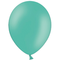 "10"" Custom Printed Forest Green Latex Balloons"