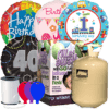 Birthday Foil Balloon Party Pack