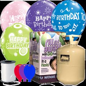 Birthday Latex Balloon Party Pack