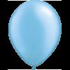 "11"" Custom Printed Luxury Pearl Azure Latex Balloons overview"